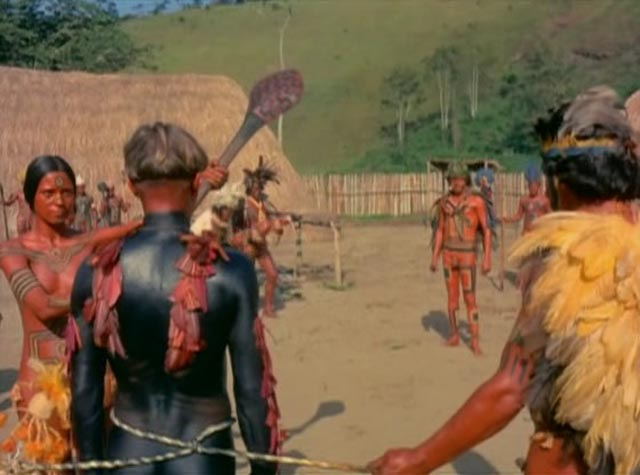 The Frenchman's temporary wife begins the ceremony in which he will be eaten by the tribe in Nelson Pereira dos Santos' How Tasty Was My Little Frenchman (1971)