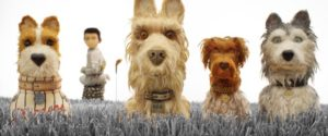 Atari and the canine companions on his quest to Wes Anderson's Isle of Dogs (2018)