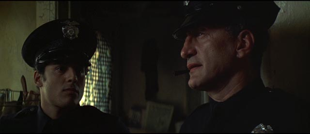George C. Scott as dedicated LAPD veteran Kilvinski in Richard Fleischer's The New Centurions (1972)