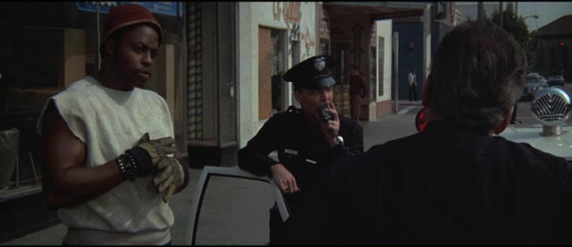 Race is present but uncommented on throughout Richard Fleischer's The New Centurions (1972)