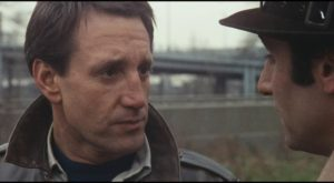 The line between law and disorder blurs in Philip D'Antoni's The Seven-Ups (1973): Roy Scheider and Tony Lo Bianco
