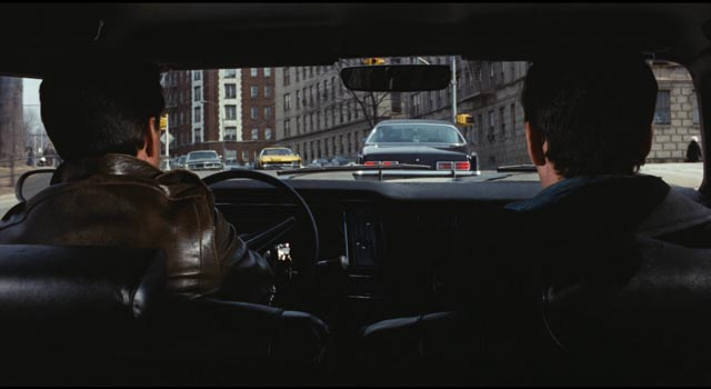 Even in the city cars are an essential investigative tool in Philip D'Antoni's The Seven-Ups (1973)