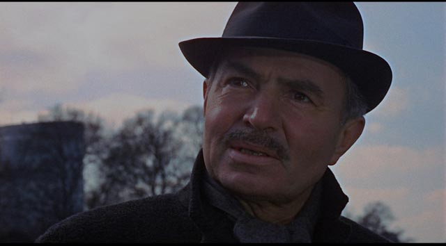 James Mason as John le Carré's weary British agent in Sidney Lumet's The Deadly Affair (1966)