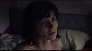 Harriet Andersson as Ann, the wife who seeks sexual satisfaction outside marriage in Sidney Lumet's The Deadly Affair (1966)