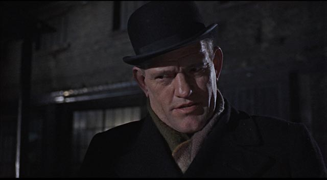 Harry Andrews as Inspector Mendel, aiding in the investigation in Sidney Lumet's The Deadly Affair (1966)