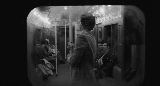 Public transportation as claustrophobic trap in Larry Peerce's The Incident (1967)