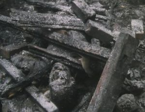 Aftermath of the attack in Mick Jackson's Threads (1984)