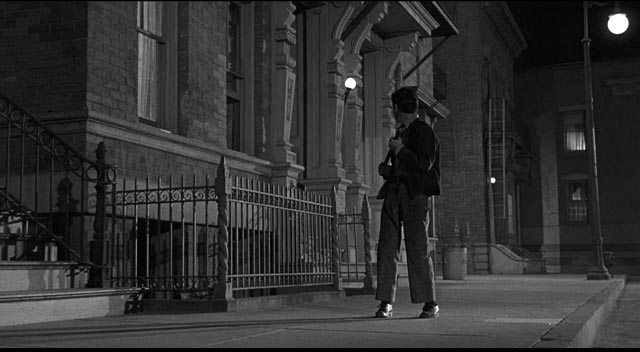 Tolly inhabits a city where most things happen at night in Sam Fuller's Underworld U.S.A. (1961)