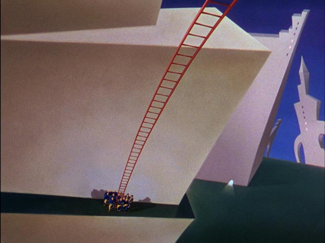 ... and distorted perspectives to create Dr. Seuss' visuals in a live-action world