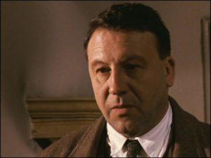 Günter Lamprecht as Franz Biberkopf in Fassbinder's epic adaptation of Alfred Döblin's Berlin Alexanderplatz (1980)