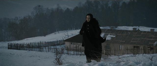 Voichita (Cosmina Stratan) has chosen an austere, almost Medieval life, in Cristian Mungiu's Beyond the Hills (2912)