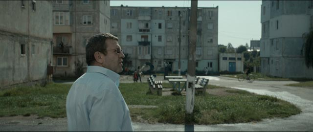 Romeo (Adrian Titieni) feels threatened by the decaying society around him in Cristian Mungiu's Graduation (2016)