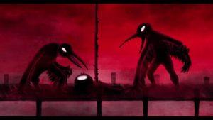 Demons bred of industrial disaster haunt survivors on the island in Birdboy: The Forgotten Children (2015)
