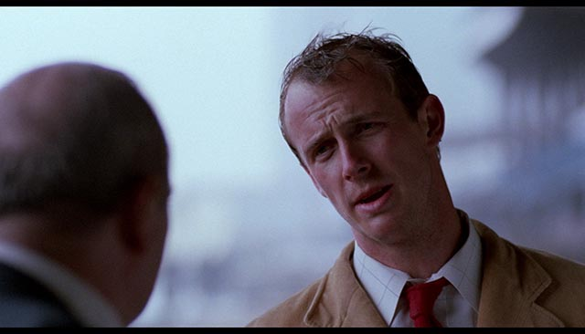Director J. Christian Ingvordsen as troubled detective Mickey McCardle in J. Christian Ingvordsen's Blue Vengeance (1989)