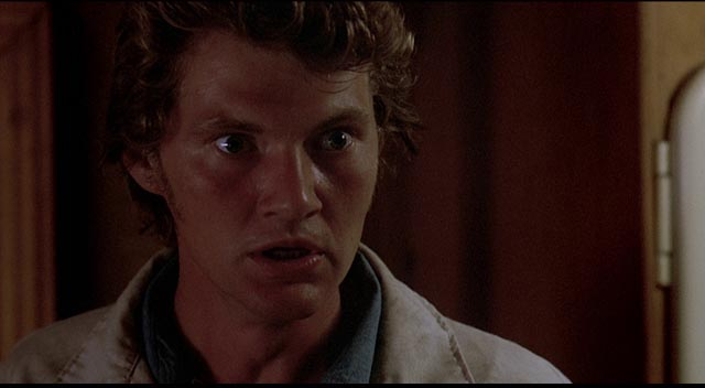 Charley's sidekick Harman (Andy Robinson) can't believe their luck in Don Siegel's Charley Varrick (1973)