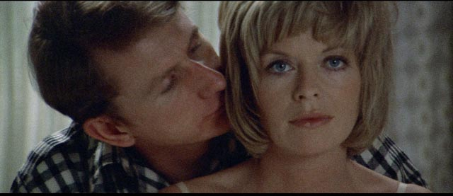 Cathryn can no longer tell whether even her husband Hugh (Rene Auberjonois) is real in Robert Altman's Images (1972)