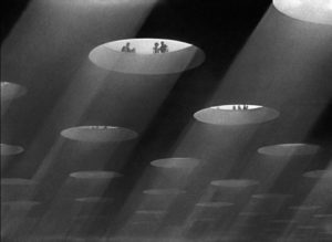 Heaven combines Art Deco with ethereal in Michael Powell and Emeric Pressburger's A Matter of Life and Death (1946)
