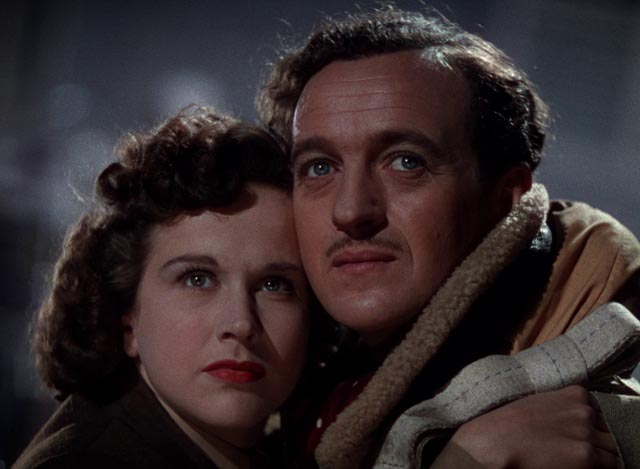 Peter and June face judgement together in Michael Powell and Emeric Pressburger's A Matter of Life and Death (1946)