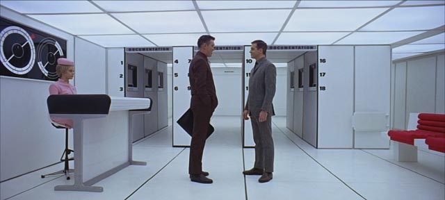 Even in space, we submit to a bland corporate sense of design ...
