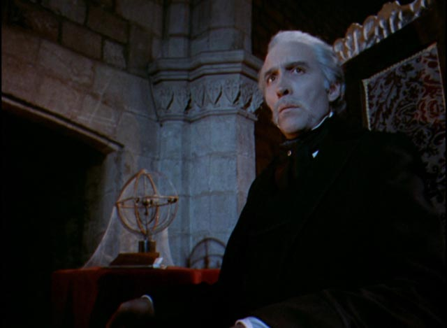 Christopher Lee gets to be a more dignified vampire in Jess Franco's Count Dracula (1970)