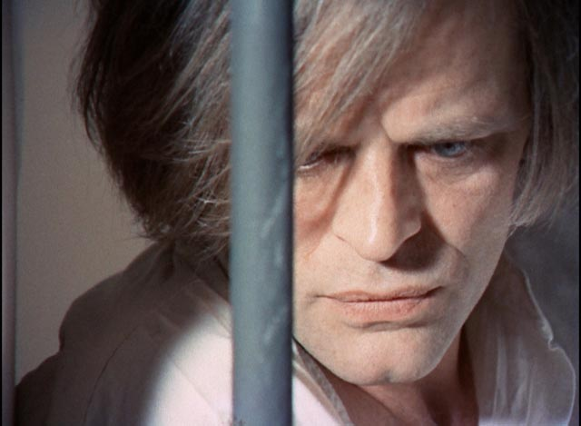 Klaus Kinski as madman Reinfield in Jess Franco's Count Dracula (1970)