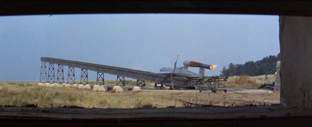 The Nazis test their prototype V-1 missile in Michael Anderson's Operation Crossbow (1965)