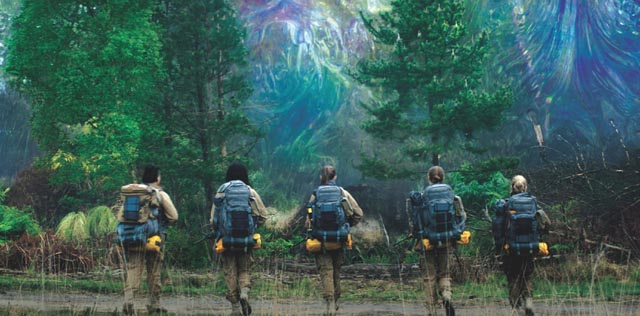 """And all-female team heads into """"the shimmer"""" in Alex Garland's Annihilation (2018)"""