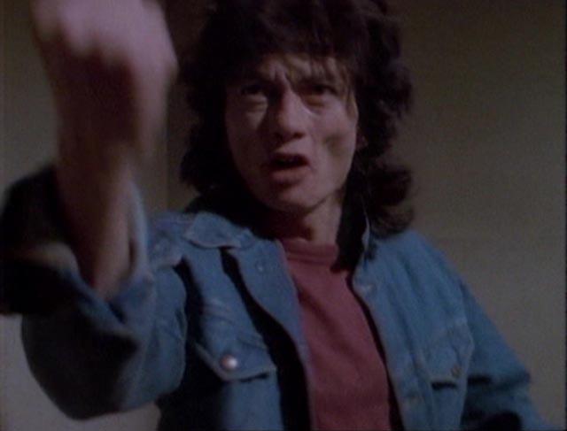 Eccentric actor Lazar Rockwood chews the scenery in D.B. Benedikt's Beyond the Seventh Door (1986)