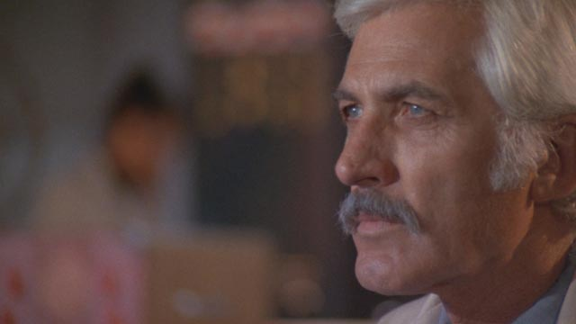 John Hart as Dr. Stein, the scientist whose research goes awry in William A. Levey's Blackenstein (1973)