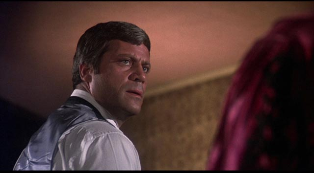 Ben Rolf (Oliver Reed) has to face his own inner demons in Dan Curtis' Burnt Offerings (1976)