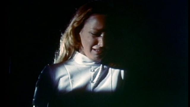 Nurse Charlotte Beale (Rosie Holotik) begins to doubt her own sanity in S.F. Brownrigg's Don't Look in the Basement (1972)