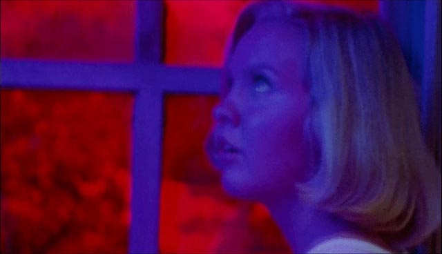 S.F. Brownrigg appears to have been influenced by the visual styles of Mario Bava and Dario Argento in Don't Open the Door (1974)