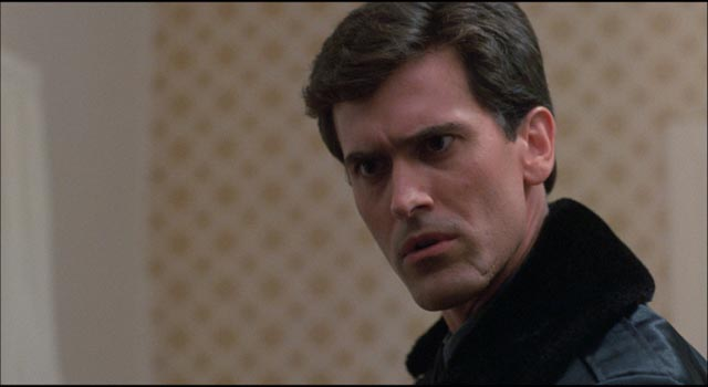 Bruce Campbell as Officer Jack Forrest in William Lustig's Maniac Cop (1988)