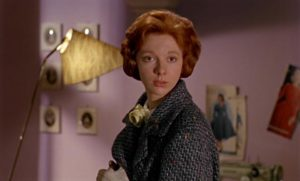 Neighbour Helen (Anna Massey) offers Mark something he's never had: sympathy and understanding in Michael Powell's Peeping Tom (1959)