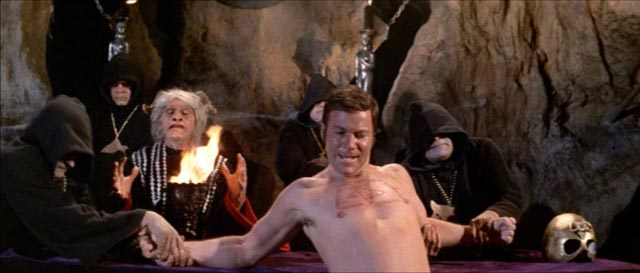 William Shatner runs afoul of Satanists in Robert Fuest's The Devil's Rain (1975)