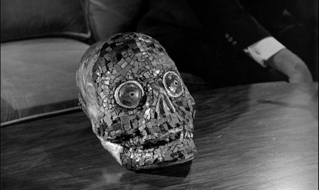 An ancient artifact gives wearers access to a terrifying other dimension in Julian Roffman's 3-D The Mask (1966)