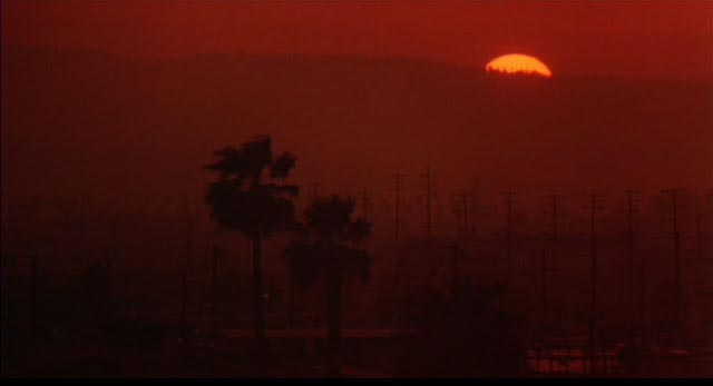 A Hellish twilight hangs over Los Angeles in William Friedkin's To Live and Die in L.A. (1985)