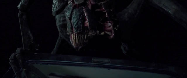 No explanation for the origin of the monsters which have overrun the world in John Krasinski's A Quiet Place (2018)