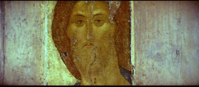 Andrei Rublev's art in the epilosgue of Andrei Tarkovsky's Andrei Rublev (1966)