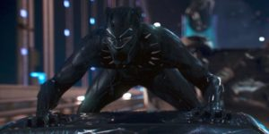 Leader of an ancient, hidden society, comes to save the world in Ryan Coogler's Black Panther (2018)