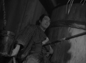 The journey ends in pointless violence in Tomu Uchida's Bloody Spear at Mount Fuji (1955)