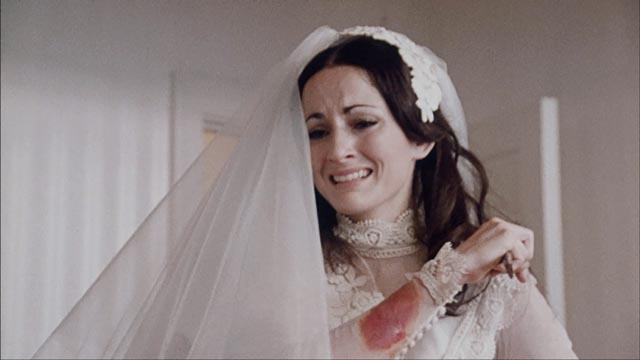 Barbara (Robin Strasser) is understandably pissed off in The Bride (1973)