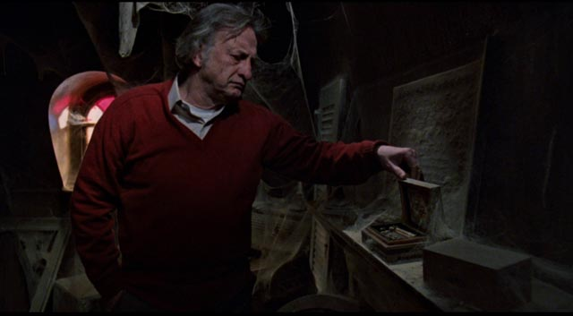 Composer John Russell (George C. Scott) finds traces of a terrible crime in Peter Medak's The Changeling (1980)