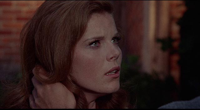 Miranda (Samantha Eggar) tries to understand her perilous situation in William Wyler's The Collector (1965)