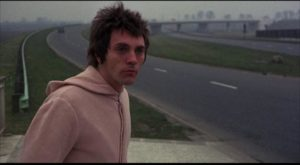 John (Terence Stamp) escapes out into a world he isn't equipped to deal with in Alan Cooke's The Mind of Mr. Soames (1970)