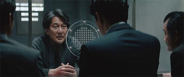Misumi (Kôji Yakusho) confesses to murder, but there's no certainty in Hirokazu Kore-eda's The Third Murder (2017)