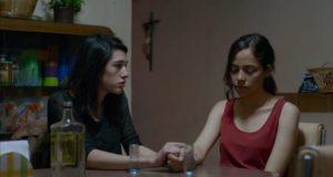 Veronica (Simone Bucio) wants to share her experience with Alejandra (Ruth Ramos) in Amat Escalante's The Untamed (2016)