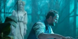 Psychologist Eric Price (Jason Clarke) is haunted by his own ghosts in the Spierig Brothers' Winchester (2018)