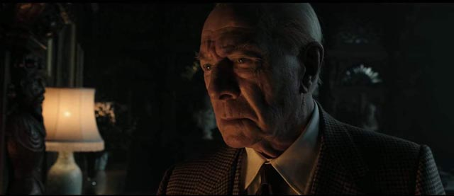 Christopher Plummer embodies wealth as a form of madness in Ridley Scott's All the Money in the World (2017)