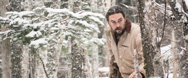 Jason Momoa as a besieged family man in Lin Oeding's Braven (2018)